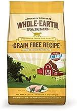 Whole Earth Farms Grain Free Recipe Dry Cat Food, Chicken, 10 Lb
