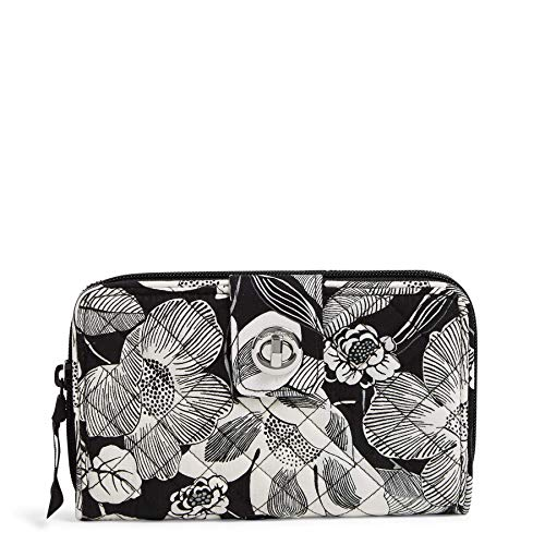 Vera Bradley Women's Signature Cotton Turnlock Wallet...