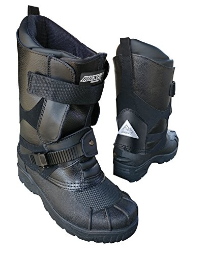Joe Rocket Men's Snowmobile Boot (Black, US 14)
