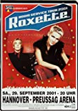ROXETTE - 2001 - Konzertplakat - Room Service - Tourposter