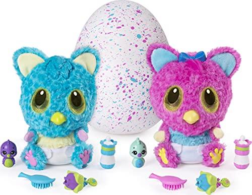 Hatchimals HatchiBabies Cheetree, Baby - Hatchimal mit interaktiven Accessoires