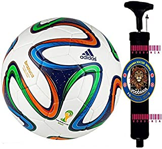 voodania Manchester United MUFC Official Football Size 5, Diameter: 26 cm (Pack of 1, Multicolor)
