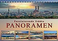 Faszinierende Staedte, Panoramen (Tischkalender 2022 DIN A5 quer): Eindrucksvolle Staedte der Welt in aussergewoehnlichen Panoramen. (Monatskalender, 14 Seiten )