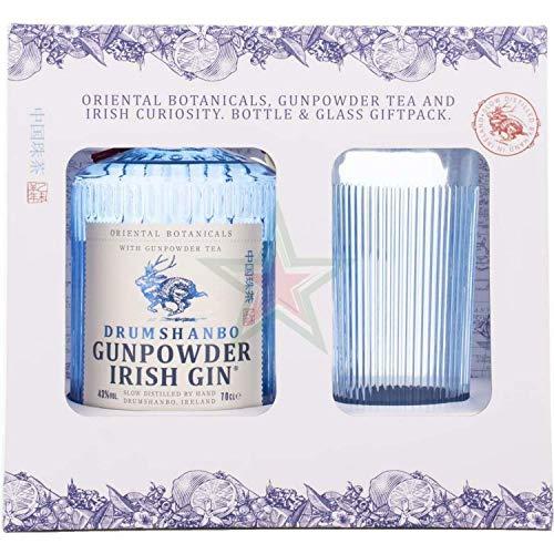 Drumshanbo Gunpowder Irish Gin mit Glas 43,00% 0,70 Liter