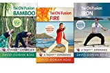 Tai Chi Fusion by David-Dorian Ross 3-DVD Bundle (YMAA) Combined Yoga, Qigong, Tai Chi, Weight Loss Exercise for Beginners DVD **BESTSELLER**