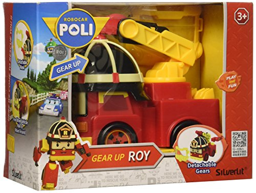 Academy Robocar Poli Gear Up Diecast Vehicle Toy Roy S83394