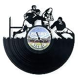 Montre en vinyle pour Rugby Idée cadeau rugbyiste Accessoires Rugby Idée cadeau Club House