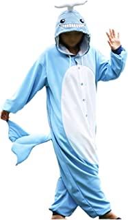 WOTOGOLD Animal Cosplay Costume Whale Unisex Adult Pajamas
