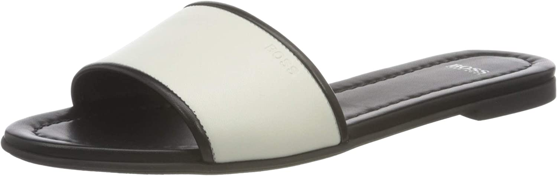 BOSS Women's Loafer, Black2, 6