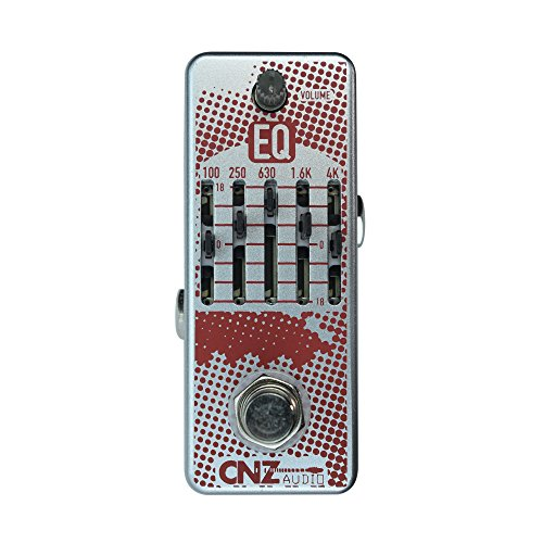 CNZ Audio EQ - Equilizer Guitar Effects Pedal, True Bypass
