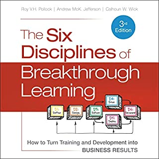 The Six Disciplines of Breakthrough Learning audiobook cover art