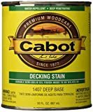 Cabot Stains 1407 Oil Based Semi-Solid Deck and Siding Stain, 1 Quart