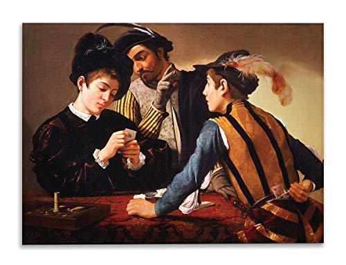 Giallobus - Schilderij - Caravaggio - Bedriegers - bedrukking op plexiglas acryl - klaar om op te hangen - Diverse formaten - 70x50 cm