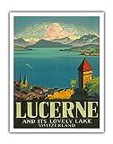 Pacifica Island Art Luzern und Seinen schönen See,