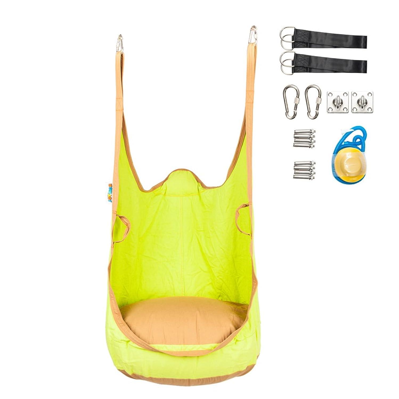 JOYMOR Hammock Pod Swing Chair for Kids Indoor Outdoor Hanging Seat Nook (All Accessories Included)
