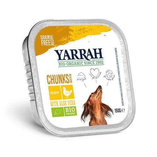Bouchées Bio Yarrah de poulet à l-aloe Vera - Chien - 7*150g