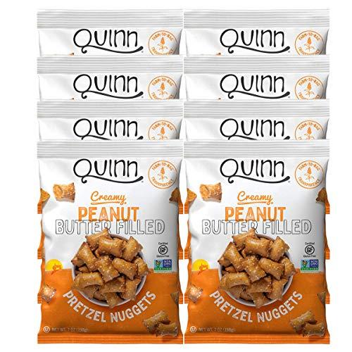 Quinn Pretzels Peanut Butter Filled, 7 Oz (8 Count)