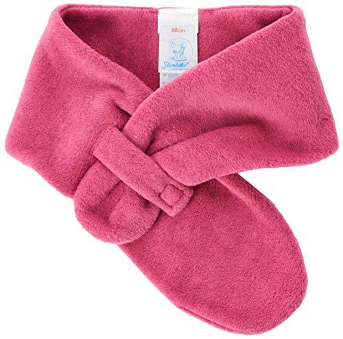 Sterntaler Unisex Baby Schal Cold Weather Scarf, Magenta, 80 EU
