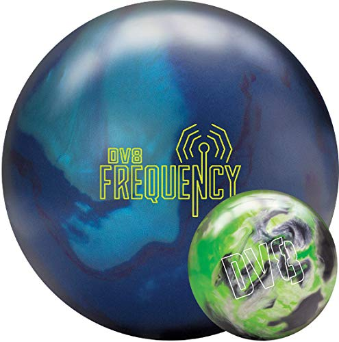 DV8 Polyester Just Black Bowling Ball With Free Bowling Bag