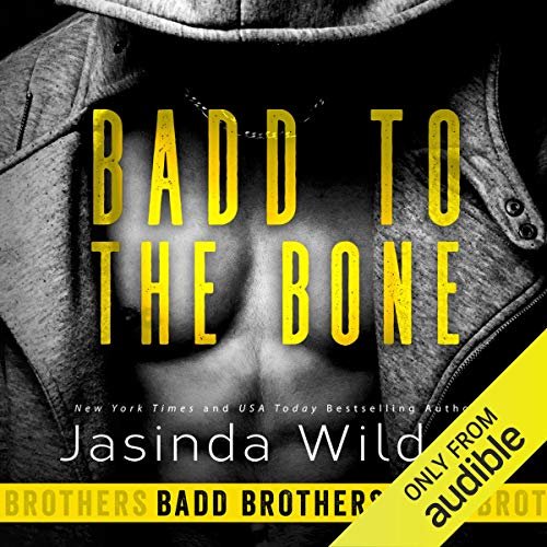 Badd to the Bone audiobook cover art
