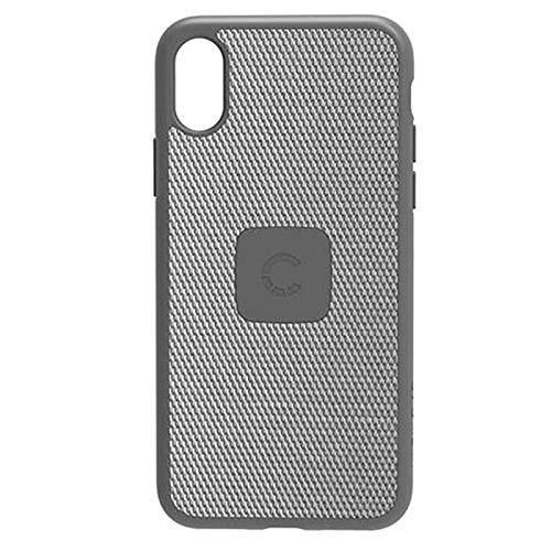 Cygnett Cell Phone Case for Apple iPhone X - Silver/Carbon Fiber