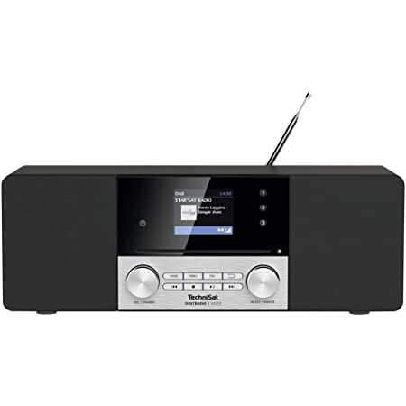 Technisat Digitradio 3 Stereo Dab Radio Compact System Dab Fm Cd Player Bluetooth Usb Headphone Jack Aux Input Radio Alarm Clock Home Cinema Tv Video