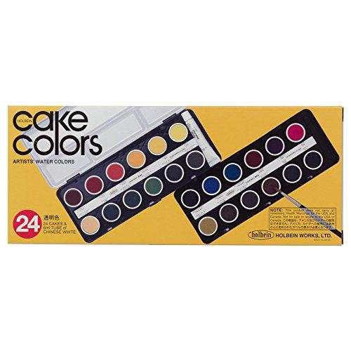 ホルベイン『ケーキカラーC012透明24色セット(2012)』