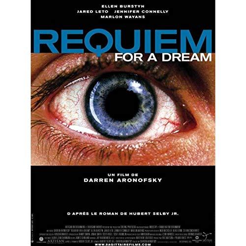 REQUIEM FOR A DREAM Affiche de film - 40x60 cm. - 2000 - Jared Leto, Jennifer Connelly, Darren Aronofsky