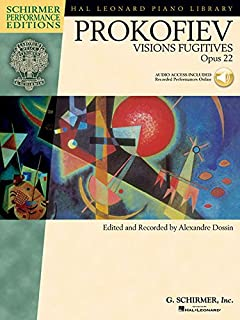 Visions Fugitives Op. 22 - Piano - Schirmer Performance Editions Book/Cd