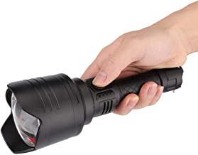 Durable Flashlight, Handheld Flashlight, with Charging Power Brightness Display Practical Convenient for Outdoor Camping