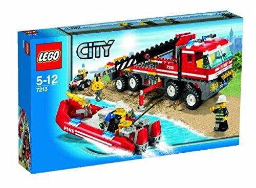 LEGO City 7213 - Feuerwehr-Truck mit Löschboot