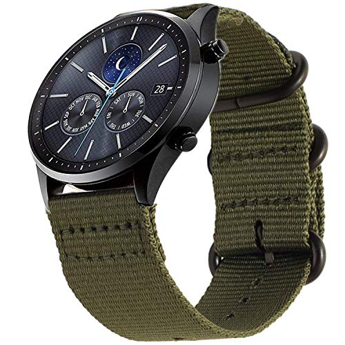 Shieranlee 22mm Correa Compatible con Samsung Galaxy Watch 46mm/Gear S3 Classic/Gear S3 Frontier/Huawei Watch GT - Pulsera de Repuesto de...