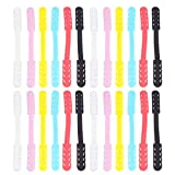 MILISTEN 20PCS Face Cover Strap Extender Face Ear Hook Extension Grips Ear Band Extension Buckle Band Strap Anti-Slip Grip Buckle (Assorted Color)