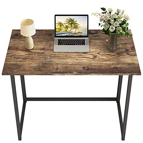 GHQME Folding Desk NoAssembly Writing Table Small Computer Desk Home Office Desk for Small Places 315quot Fire Board