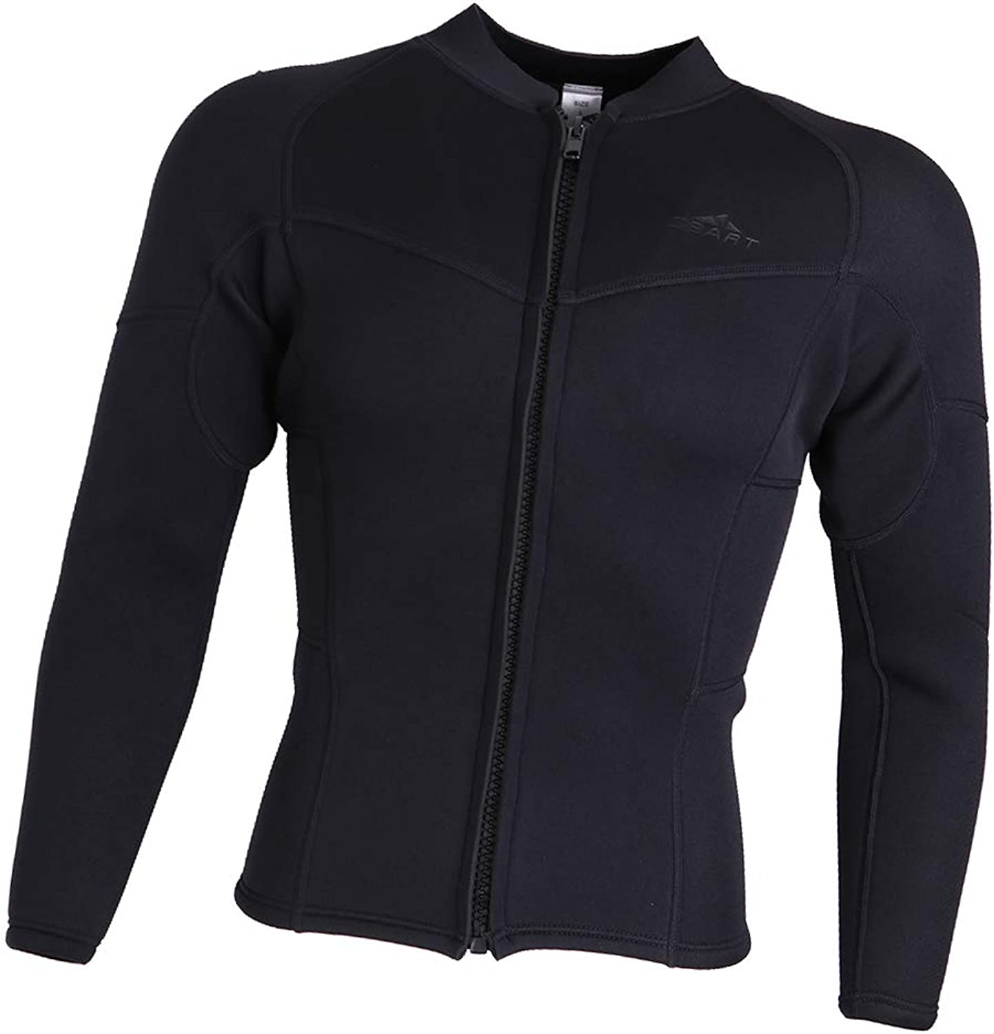 Baosity 3mm Scuba Diving Suits Surf Rash Guard Long Sleeves Sport Dive Wetsuit Tops Thermal Sports Shirts for Swimming Snorkeling Kayaking Men