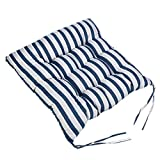 Sothread Soft Striped Chair Cushion Indoor/Outdoor Garden Patio Home Kitchen Office Sofa Seat Pad (E)