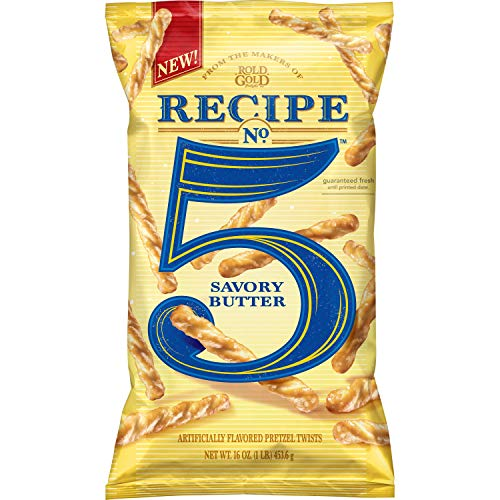 Rold Gold Recipe No. 5 Pretzel Twists, Savory Butter
