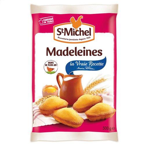 St Michel Madeleines coquilles oeufs de plein air - Le paquet de 500g
