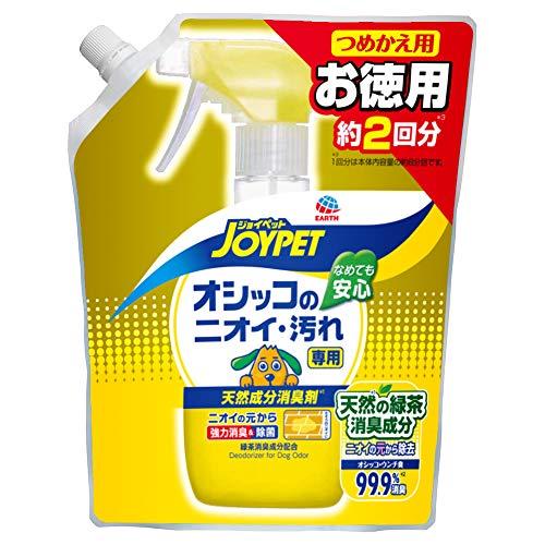 JOYPET(ジョイペット) 天然消臭剤オシッコのニオイ・汚れ専用詰替ジャンボパック450ml