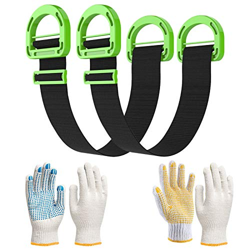 Move Straps, Moving and Lifting Straps Adjustable for...