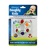 Naughty Kidz Water Filled Soft Cooling Teether BPA-free Specially Designed to Ease Teething