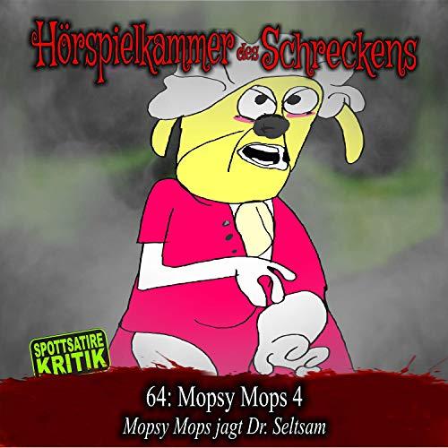 Page de couverture de Mopsy Mops 4 - Mopsy Mops jagt Dr. Seltsam