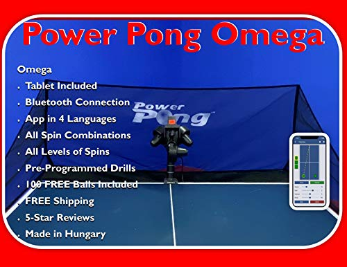 Power Pong Omega Robot