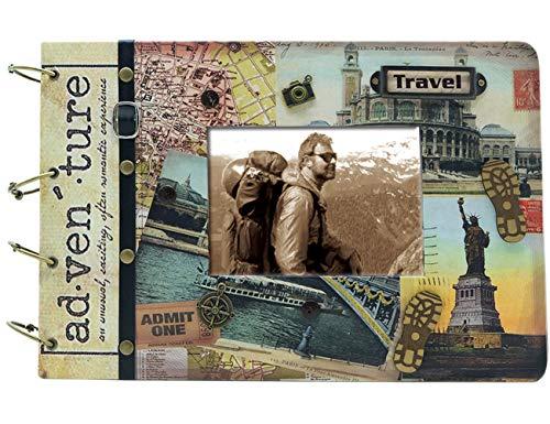 SAILINGSTORY Travel Photo Album Adventure Photo Album Travel Scrapbook Album Travel Photo Book Adventure Photo Book