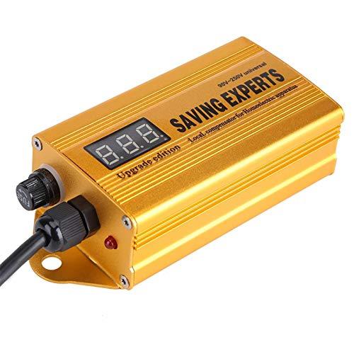 Emoshayoga Ahorradores de energía Ahorro de energía Caja de Ahorro de energía Amplio Rango de Uso Baño con Pantalla Digital para Hotel en casa(U.S. regulations)