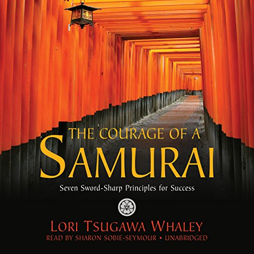 The Courage of a Samurai audiobook cover art