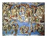 Puzzle-a Aceite de la pintura famosa de rompecabezas - el juicio final 4000 del pedazo del rompecabezas for adultos Michelangelo Puzzle - Inicio Juguetes Interesante juego Puzzle-a