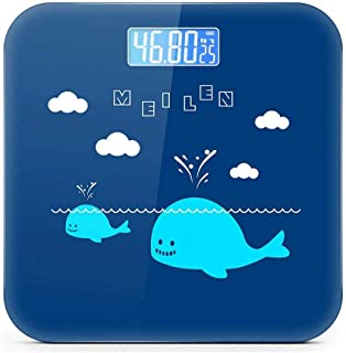 BTYAY Human Scale,Digital Body Weight Bathroom Scale with Step-On Technology, Backlight Display, High Precision Measurements