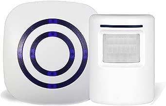 Infrared Motion Sensor Alarm Entry Alert Vistor Doorbell Home Security Driveway Kit