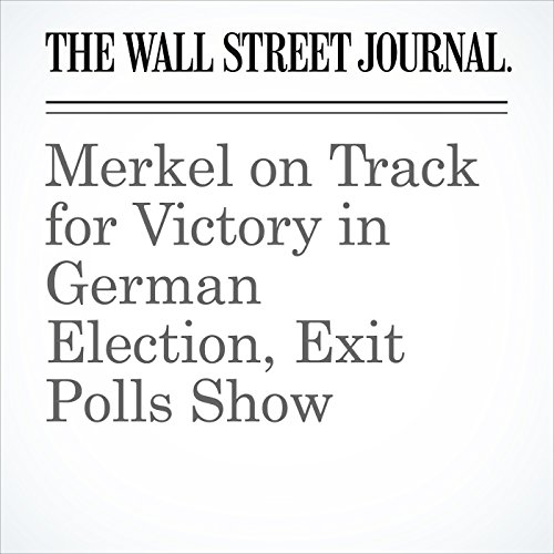 Merkel on Track for Victory in German Election, Exit Polls Show copertina